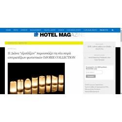 ICY LED ΕΠΙΤΡΑΠΕΖΙΟ ΦΩΤΙΖΟΜΕΝΟ - HOTEL MAGAZINE