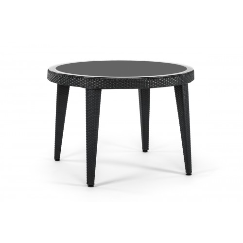 OSAKA Ø110 Τραπέζι με τζάμι
