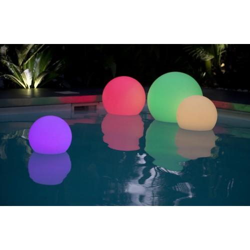 BOBBY C40 αδιάβροχη φωτιζόμενη ασύρματη μπάλα RGB LED