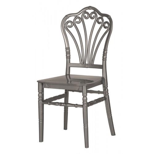 FLORA ΑΣΗΜΙ στοιβαζόμενη chiavari, καρέκλα