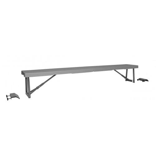 TOP Shelf 180 πτυσσόμενο μακρόστενο βοηθητικό τραπέζι