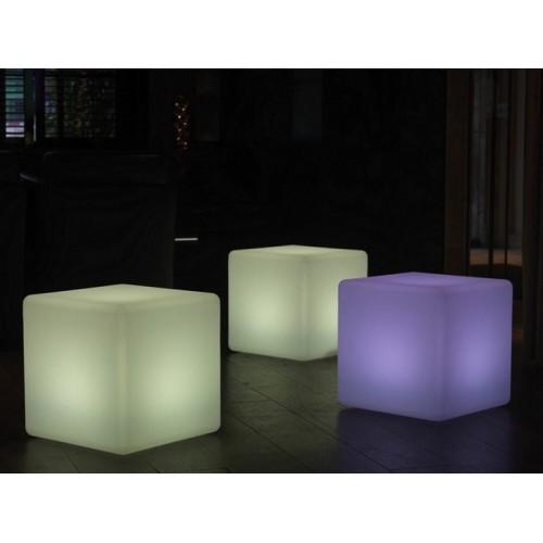 Φωτιζόμενο Cube   Ασύρματο LED   Αδιάβροχο LED