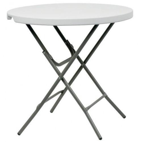 MALAGA Ø0,80 τραπέζι ροτόντα πτυσσόμενο