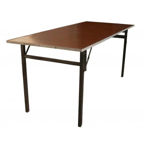 """Τραπέζι πλακάζ μακρόστενο """"Μπανκέ"""" - Τραπέζια εκδηλώσεων"""